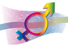 Undefined. Sex icon. Gay? Straight? Lesbian Stock Image