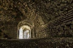 Under amphitheater in city of Duress Stock Photo