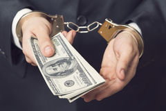 Under arrest Royalty Free Stock Photography