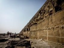 Under av världen, pyramid arkivbild