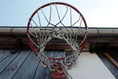 Under backboard Royalty Free Stock Photo