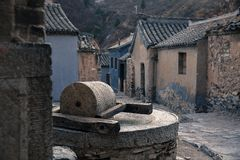 Under Beijing Cuan village scenery Royalty Free Stock Photos