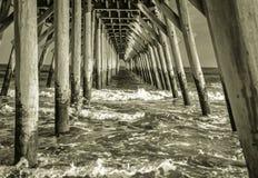 Under The Boardwalk Stock Image