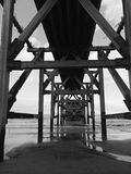 Under the Boardwalk Royalty Free Stock Images