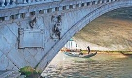 Under the bridge Royalty Free Stock Image