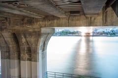 Under the bridge stock photos