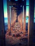 Under bridge Stock Image