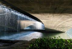 Under the bridge in Esfahan Stock Image
