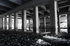 Under the bridge 2 Royalty Free Stock Photos