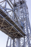 Under the Bridge. Under the lift bridge in Duluth, Minnesota stock image