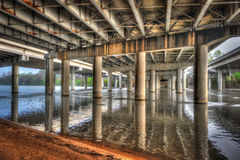 Free Under Bridge On Lady Bird Lake, Austin, Texas Stock Images - 82110364