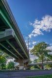 Under the bridge park Stock Image