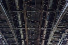 Under Bridge Royalty Free Stock Photos