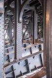 Under bridge Stock Photo