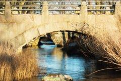Under the bridges Royalty Free Stock Photography