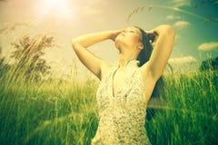Under bright summer sun Royalty Free Stock Image