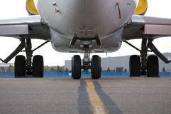 Under Carriage of large Jet Royalty Free Stock Photo