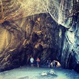 Under the Cave at Vernazza Royalty Free Stock Photography