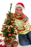 Under the christmas tree Royalty Free Stock Photos