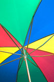 Under color umbrella Royalty Free Stock Photography
