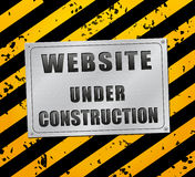 Under conctruction page Stock Images