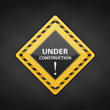 Under conctruction sign Royalty Free Stock Image