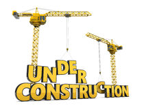 Under constrction Stock Photo