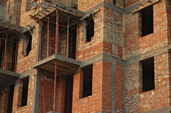 Under construction. Building in progress Royalty Free Stock Photography