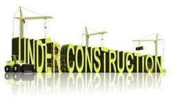 Under construction stock illustration