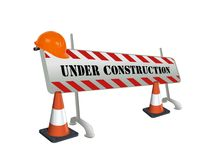 Under Construction Royalty Free Illustration
