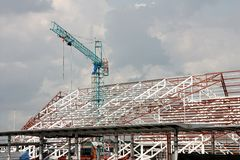 Under construction. Stock Images