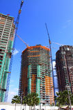 Under Construction. New Building Under Construction In The City Royalty Free Stock Photos
