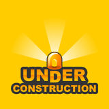 Under Construction / 2 Royalty Free Stock Images