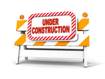 Under construction! Royalty Free Stock Photos