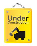 Under construction Stock Image
