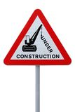 Under Construction! Stock Images