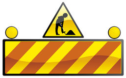 Under construction 3. Vector illustration Under construction sign 3 Vector Illustration