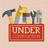 Under construction Stock Photo
