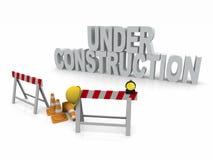 Under Construction. 3D Render scene
