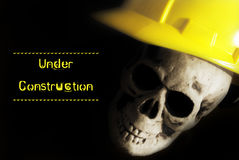 Under Construction Alert Royalty Free Stock Images