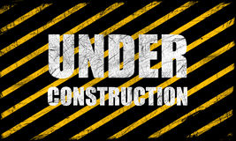 Under construction background Stock Photo