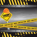 Under Construction Background Royalty Free Stock Photo