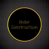 Under construction background Stock Photography