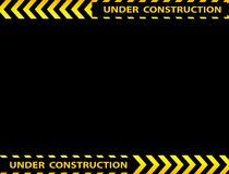 Under construction background Stock Images