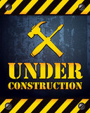 Under Construction Background Stock Image