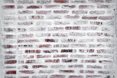 Under construction of brick wall Royalty Free Stock Photography