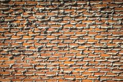 Under construction brick wall Royalty Free Stock Image