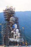 Under construction Buddha images Stock Images