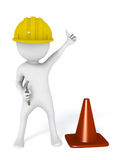 Under construction builder handyman Royalty Free Stock Photos