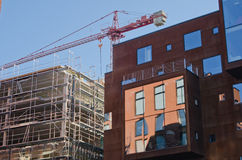 A under construction building Royalty Free Stock Images